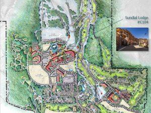 Map of Sundial Lodge Park City