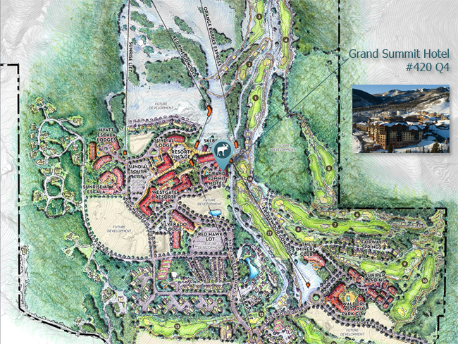 Map of Grand Summit Hotel Park City