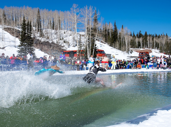 Canyons Village Pond Skimming