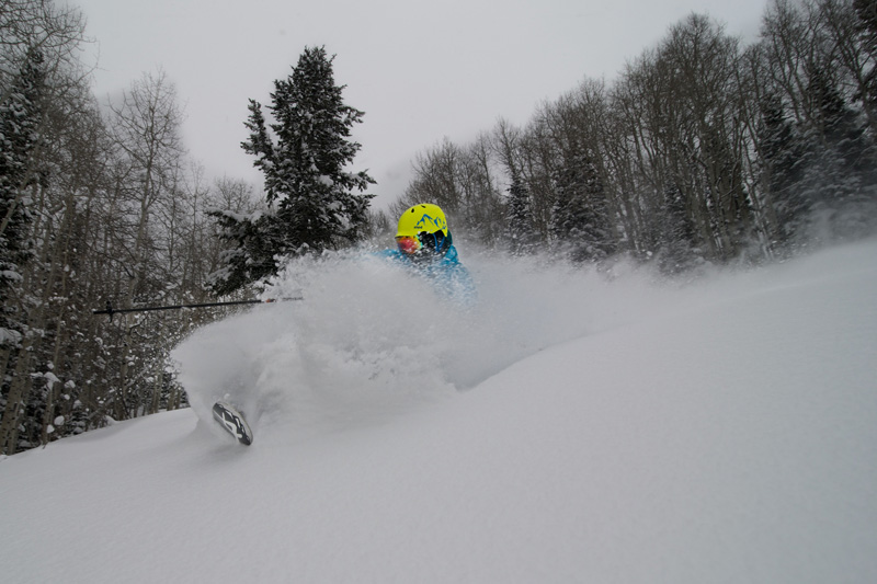 Canyons Ski Resort Powder Day