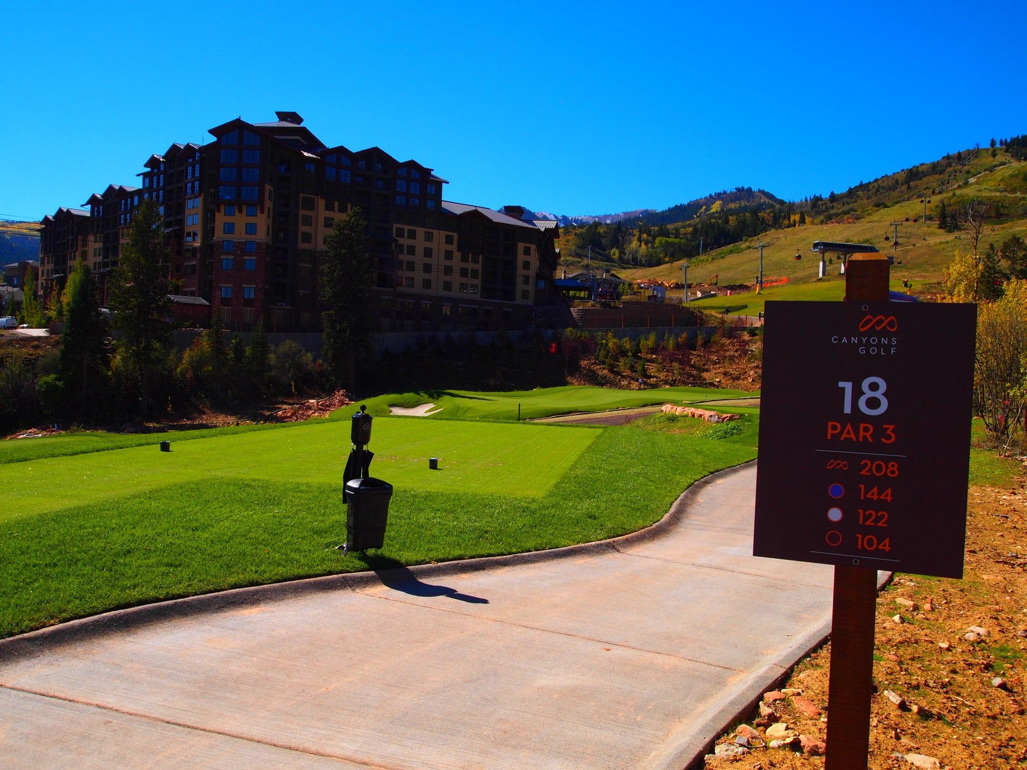 Canyons Park City Golf Course