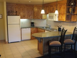Picture of kitchen in Grand Summit Hotel 363