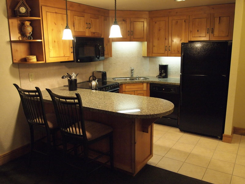 Picture of the kitchen in Grand Summit Hotel 444