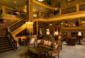 Picture of Grand Summit Hotel Lobby at Canyons Ski Resort