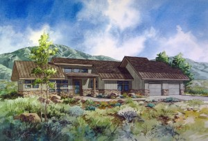 Soaring Hawk - Monarch Home Rendering
