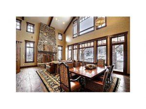Living room for Timberwolf Estates home at Canyons Ski Resort