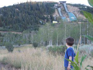 Hiking Utah Olympic Park