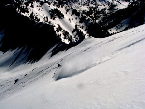 Skiing The Wasatch